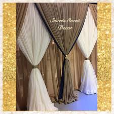 wedding backdrop canopy wedding draping decor by event decor tent