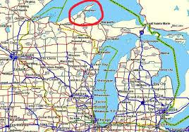 map of calumet michigan 4 wheeling the peninsula michigan