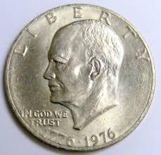 1776 to 1976 quarter dollar 1776 1976 p clad eisenhower dollar coin r49