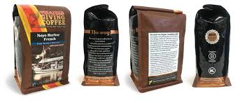 coffee bag design new packaging from thanksgiving coffee