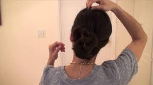 hair claw chic hair claw updo tutorial