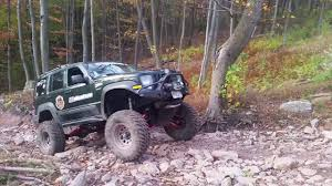 offroad jeep liberty jba offroad testing the jeep liberty long arm kit youtube