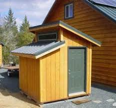 shed style houses 6 x10 slant lean to style shed plans see sles woodworking