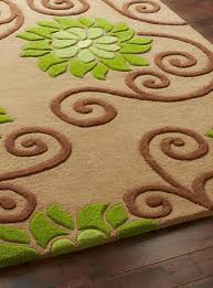 Brown And Orange Area Rug Green And Brown Area Rug Roselawnlutheran