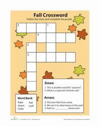 fall crossword u0026 fall crossword puzzle sc 1 st thoughtco