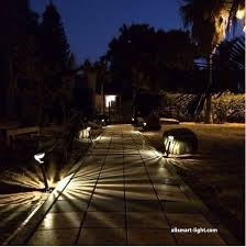 steel lawn lights led solar led garden bollard stick lights solar