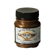 amazon com jacquard lumiere metallic acrylic paint 2 25 ounces