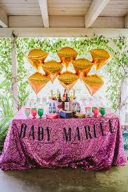 colors diy pink and gold baby shower decorations together with