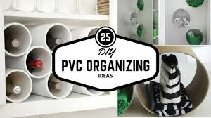25 pvc pipe organizing and storage life hacks diy home