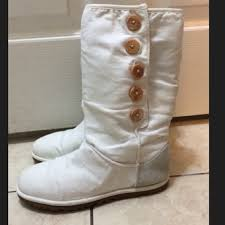 womens ugg lo pro boot chestnut 53 ugg shoes lo pro button boot in white ugg australia