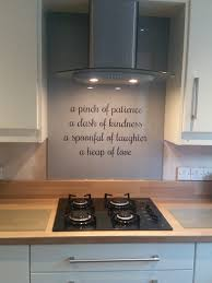 bespoke glass splashback this client requested their favourite