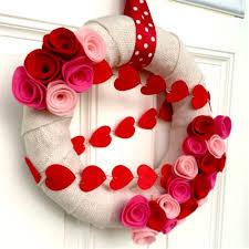 valentines wreaths wreath ideas how to make a burlap wreath