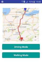 Indiana travel directions images Gps driving directions route android apps on google play