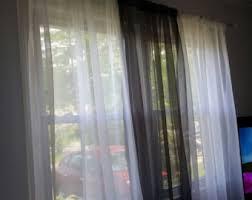 Black Sheer Curtains Black And White Sheer Curtains Curtains Ideas