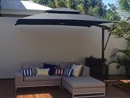 Threshold Offset Patio Umbrella Modern Offset Rectangular Patio Umbrella U2014 All Home Design Ideas