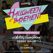 90s theme halloween party u2013 basement miami