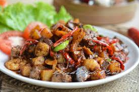 didi cuisine diah didi s kitchen sambal goreng ati kentang kering
