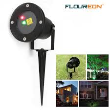 Christmas Outdoor Projector Lights by Led Waterproof Laser Projector Static Firefly Garden Landscape