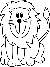 lion zoo coloring page wecoloringpage