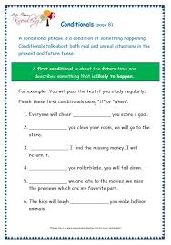 grade 3 grammar topic 24 conditionals worksheets lets share
