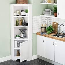 corner storage cabinet in kitchen prepac elite corner storage cabinet 1 door white