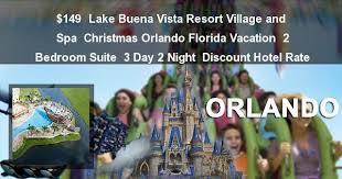 2 Bedroom Suites Orlando by Christmas Orlando Florida Vacation At Lake Buena Vista Resort