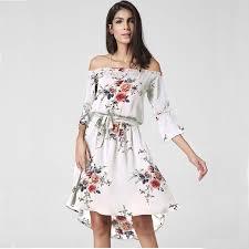 summer dresses on sale 2017 summer women dress bohemian sleeve shoulder