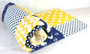 Gray And Yellow Crib Bedding Blue And Yellow Crib Bedding