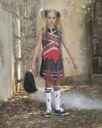 Cheerleader Halloween Costume Girls Zombie Cheerleader Costume Girls Halloween