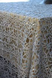 Lace Table Overlays Stunning Premier Sequins Table Overlays Premier Table Linens Blog