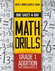 one sheet a day math drills grade 1 addition 200 worksheets
