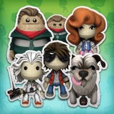 lbp 3 back to the future costume pack 1 on ps4 ps3 official