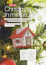 natty u0027s cross stitch corner christmas cottage ornament counted
