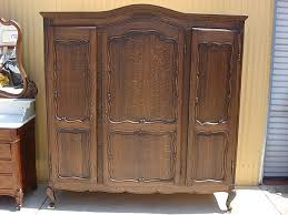 Armoires For Hanging Clothes Bedroom Cool Dark Wood Wardrobe Closet For Hanging Clothes