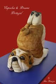 yoga bulldog cakecentral com