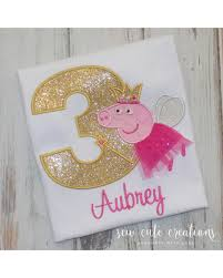 peppa pig birthday deal alert peppa pig birthday shirt peppa pig fairy shirt pig