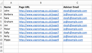mail merge from excel mail merge in microsoft word with personalised hyperlinks va pro