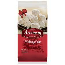 wedding cake og archway specialties cookies wedding cake 6 oz walmart