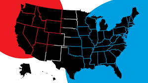 2014 Election Map by National Election Results 2014
