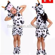 fancy dress up short sleeve animal kids cow costumes buy animal