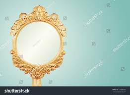 isolated antique gilt gold frame handcrafted stock photo 731390059