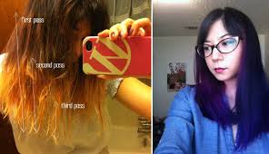 how to ambray hair how to diy dyed ombre hair