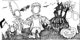 Halloween Cutouts Printable by Halloween Cutouts Peeinn Com