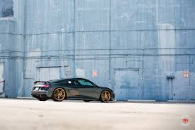 Audi R8 Gold - gallery 2017 audi r8 v10 plus on vossen gold forged wheels