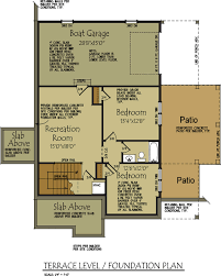 Patio Homes Floor Plans Lake Wedowee Creek Retreat House Plan