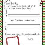 word santa letter template letter from santa printable printable