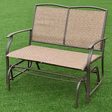 porch gliders patio bench glider plans full size of metal glider
