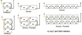 wiring multiple 6 volt batteries together thread two inverters