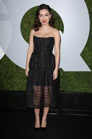 christian serratos at 2014 gq men of the year party in los angeles