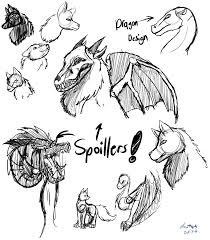 dragon and wolf sketches by candysugarskullgirl9 on deviantart